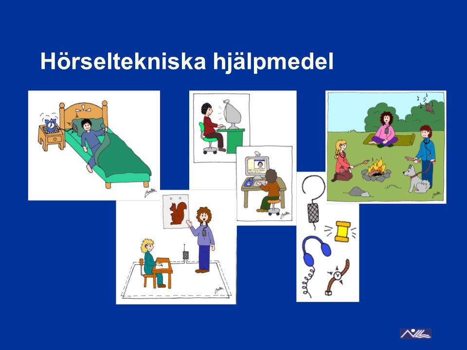 Hörseltekniska hjälpmedel