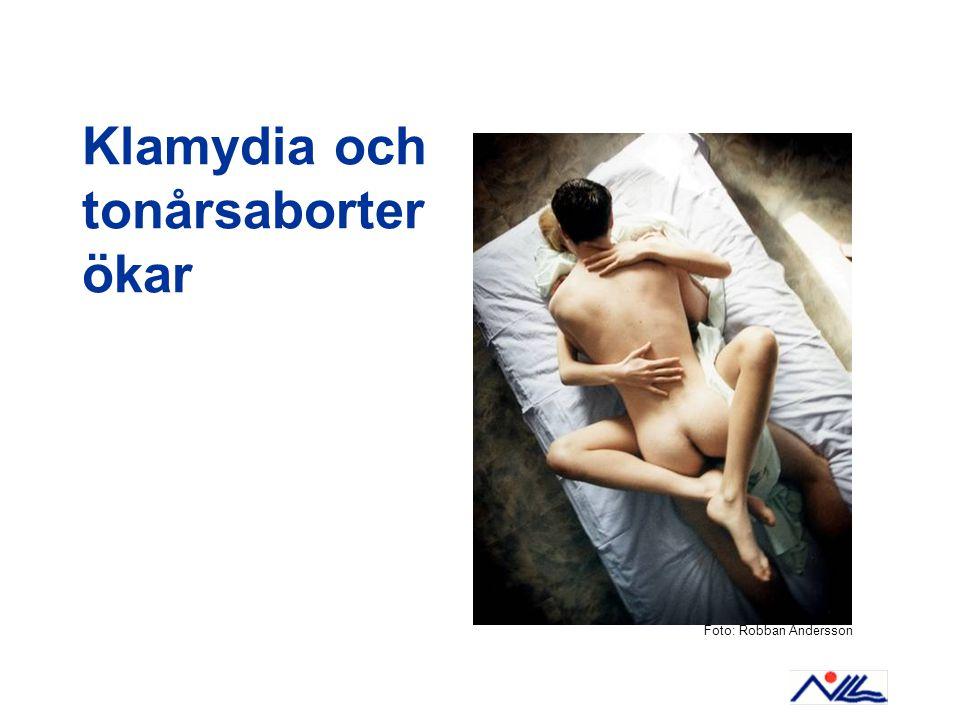 Klamydia och tonårsaborter ökar Foto: Robban Andersson