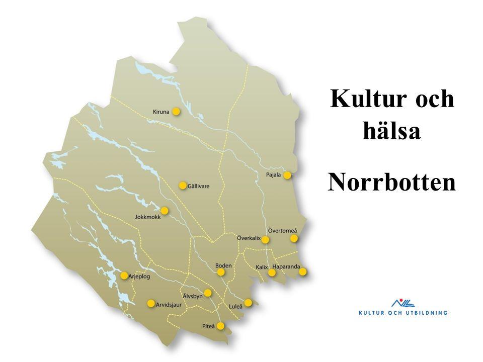 Kultur och hälsa Norrbotten