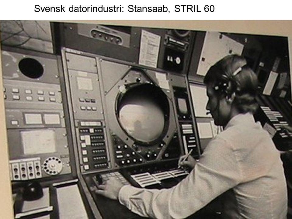 Svensk datorindustri: Stansaab, STRIL 60