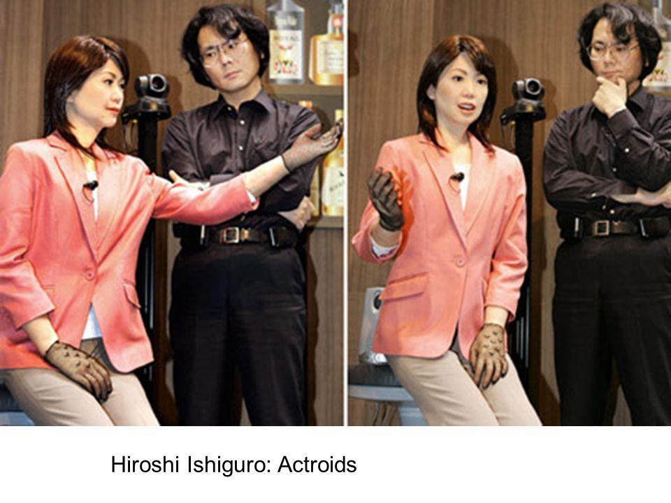 Hiroshi Ishiguro: Actroids