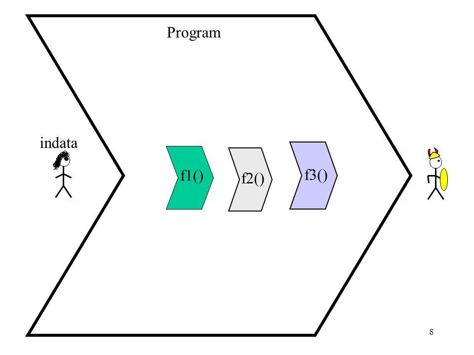 9 import, from … import Funktioner kan definieras i en egen fil och där efter importeras i olika program genom att använda: import filnamn (obs.