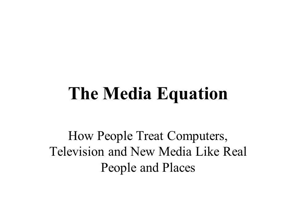 Olika karaktärer De två viktigaste kategorierna hos mediapersonligheter är : * Dominant/undergiven * Vänlig/ovänlig (medvetenhet, känslomässigt stabil, öppen)