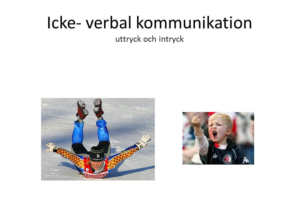 Icke-verbala signaler