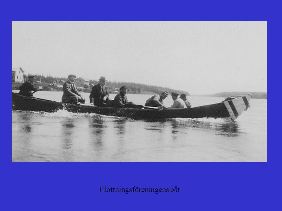 Troligen Muonio älv från finska sidan
