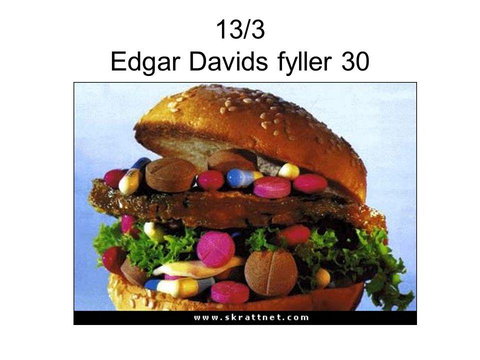 13/3 Edgar Davids fyller 30