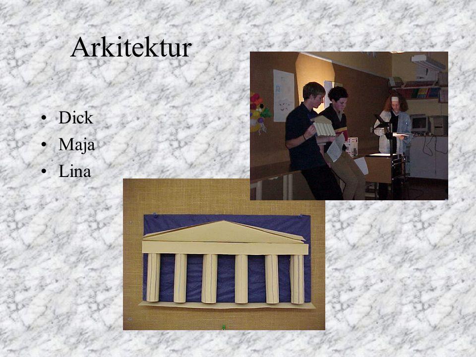 Arkitektur Dick Maja Lina