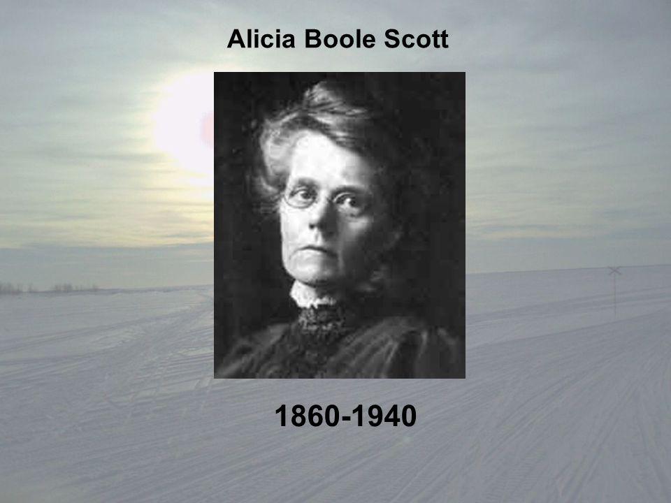 Alicia Boole Scott 1860-1940