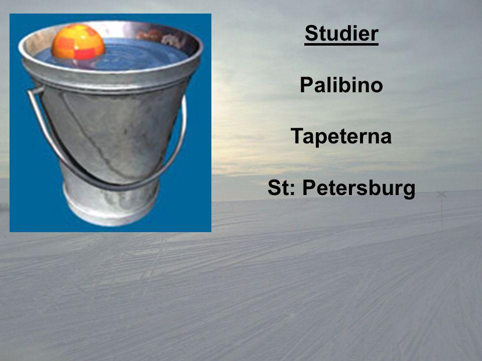 Studier Palibino Tapeterna St: Petersburg
