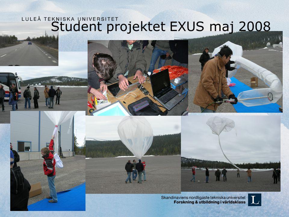 Student projektet EXUS maj 2008