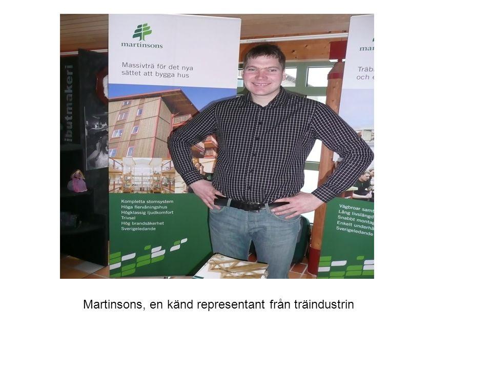 Martinsons, en känd representant från träindustrin