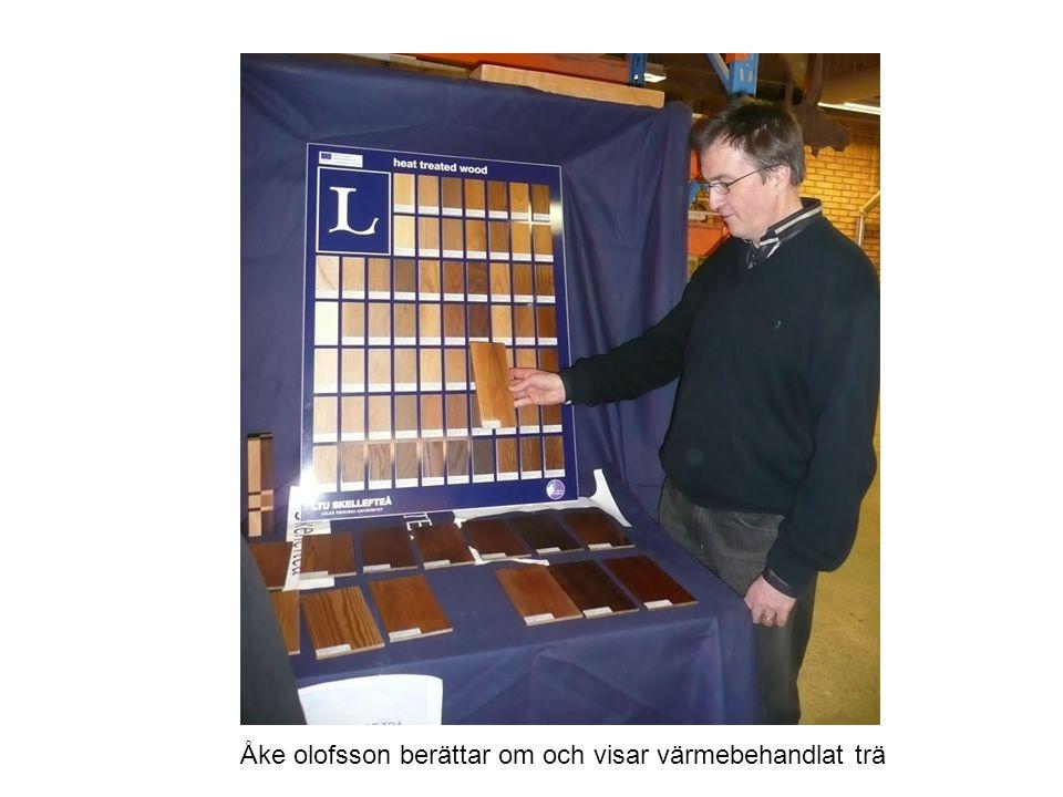 Olov Karlsson om träets kemi och fiberskivor utan lim