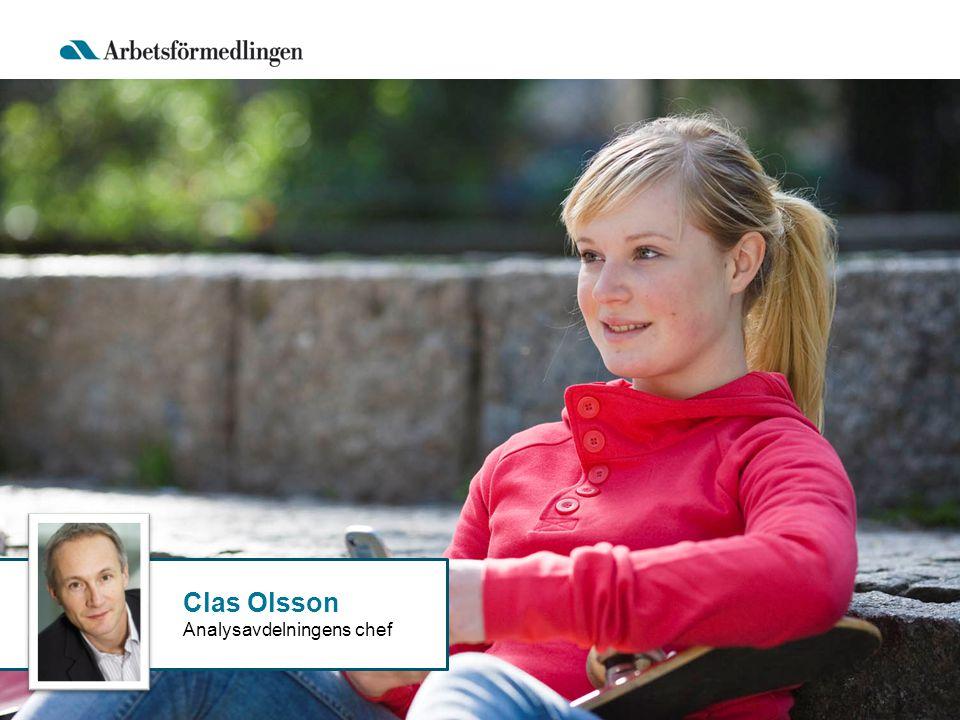 Clas Olsson Analysavdelningens chef