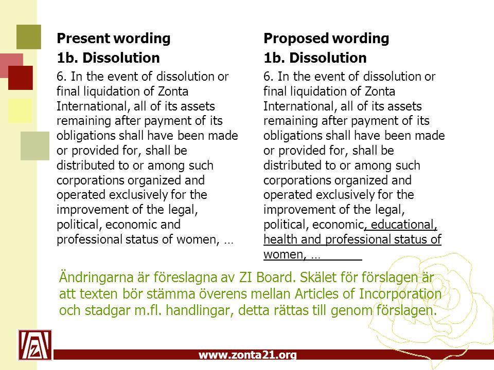 www.zonta21.org Ändringarna är föreslagna av ZI Board.