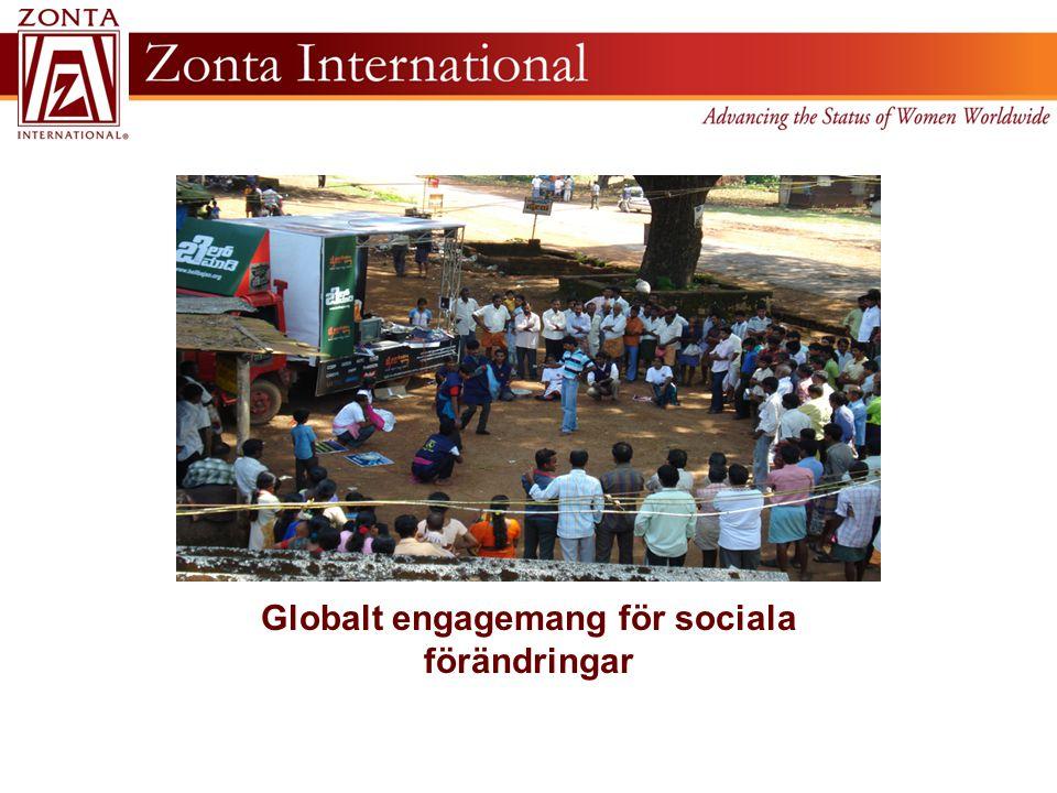 Globalt engagemang för sociala förändringar