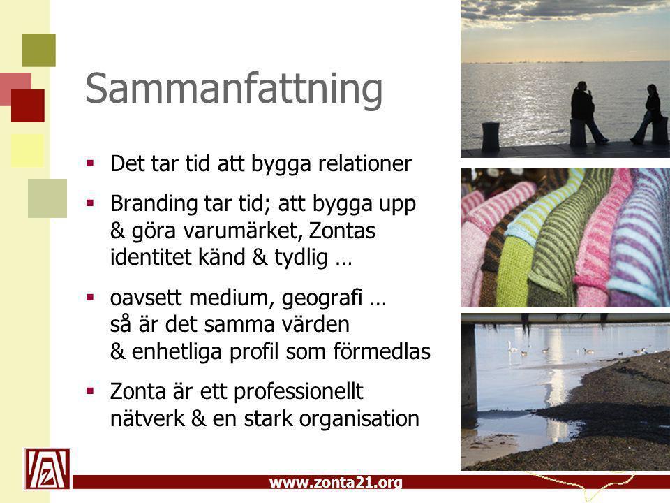 www.zonta21.org Att synas & påminnas  Dekal se nedan Laptop, pärm, resväska, i/på bilen…  Affisch, flagga – skylt t.h.