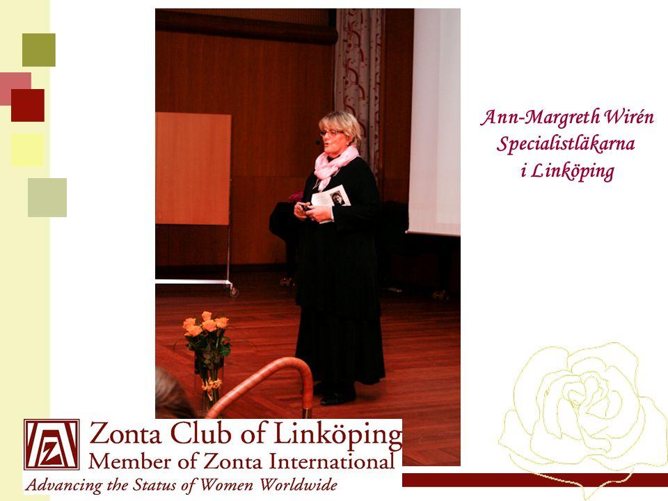 Ann-Margreth Wirén Specialistläkarna i Linköping