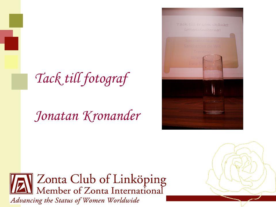 www.zonta21.org Tack till fotograf Jonatan Kronander