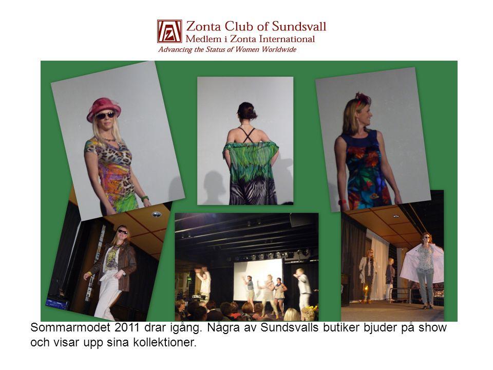 Sommarmodet 2011 drar igång. Några av Sundsvalls butiker bjuder på show och visar upp sina kollektioner.