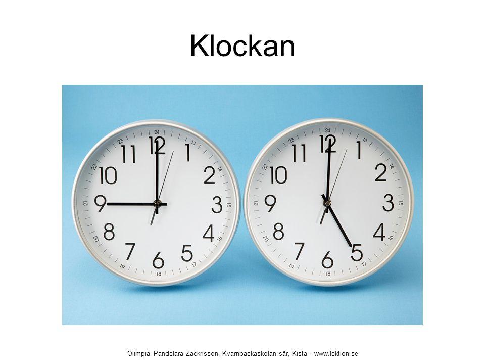 Klockan Olimpia Pandelara Zackrisson, Kvarnbackaskolan sär, Kista – www.lektion.se
