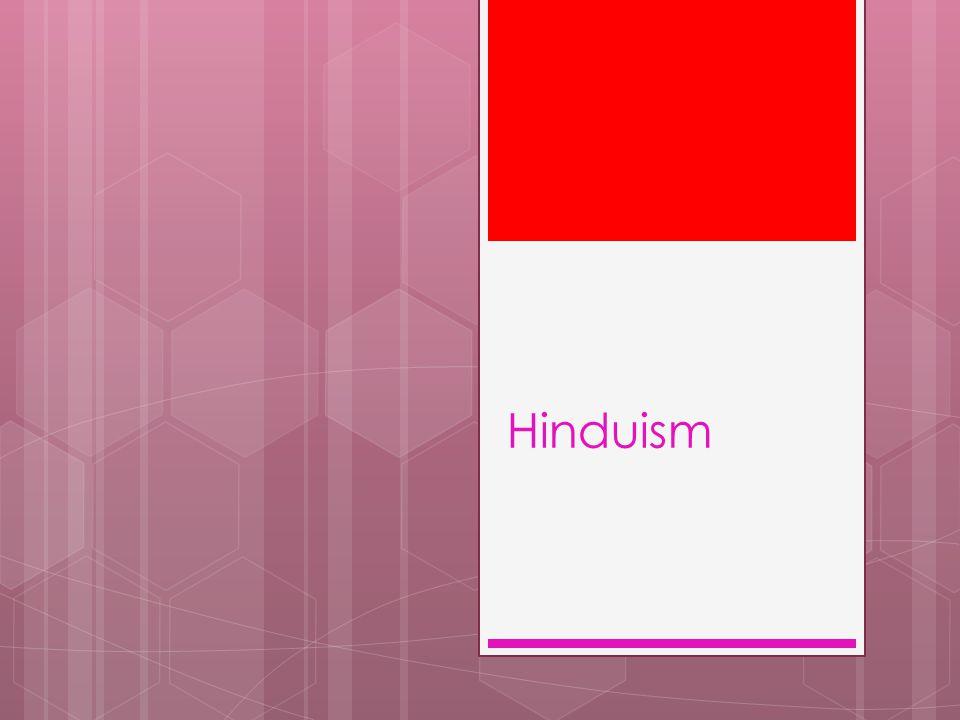 Största religionen i Indien. Flera tusen år gammal.