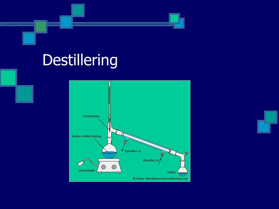 Destillering