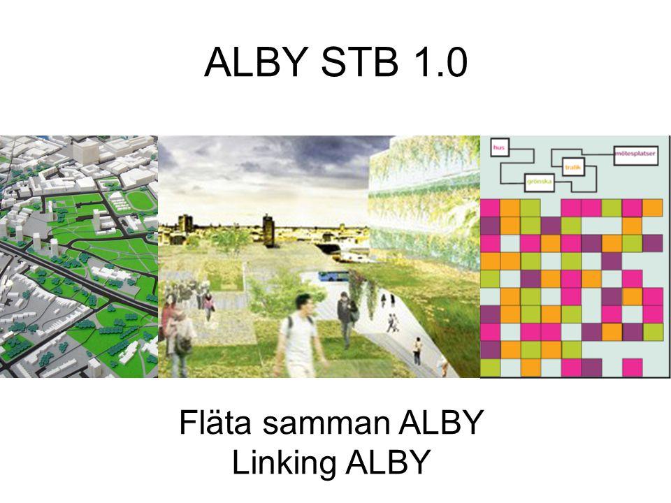 ALBY STB 1.0 Fläta samman ALBY Linking ALBY