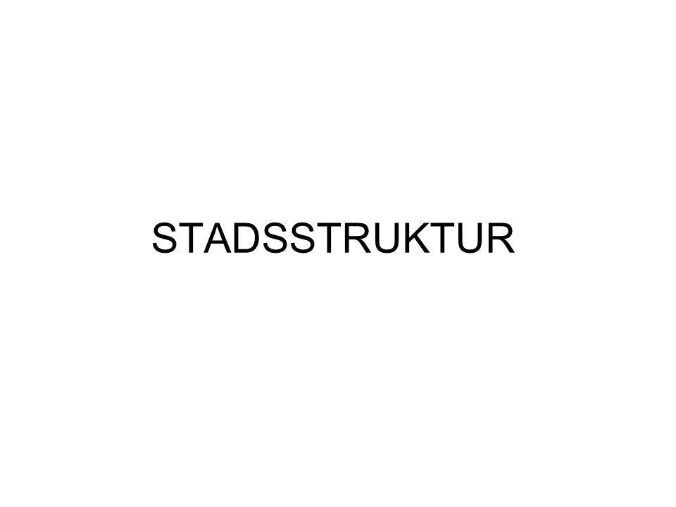 STADSSTRUKTUR