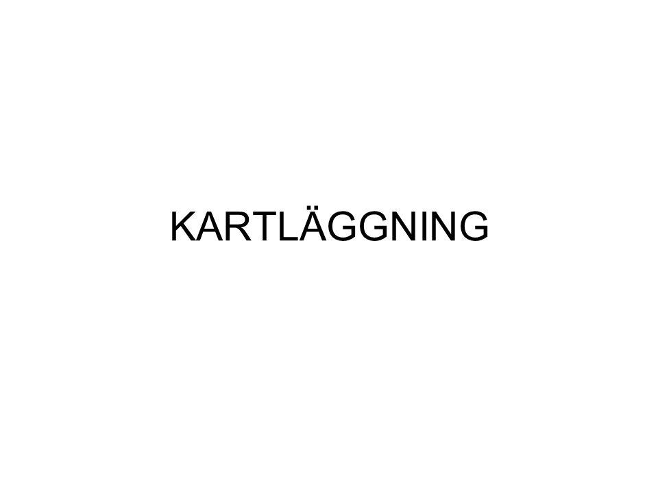KARTLÄGGNING