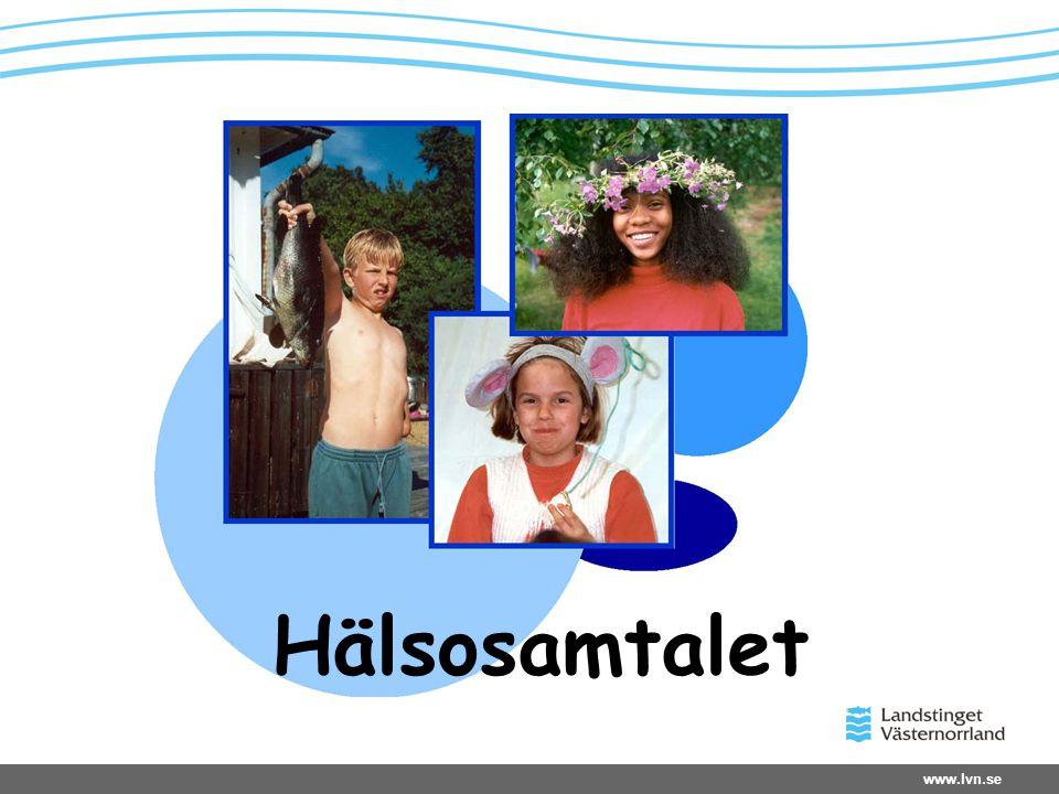 www.lvn.se Hälsosamtalet