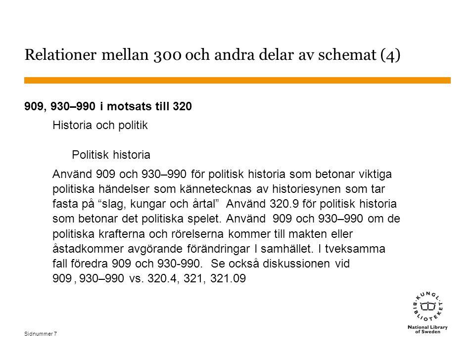 Sidnummer 38 Statsvetenskap - exempel 1 Western European party systems: continuity & change 324.2094 LSCH: Political parties – Europe Indexingångar: Politiska partier 324.2 Geografiskt tilläggT1—09 Europa T2—4