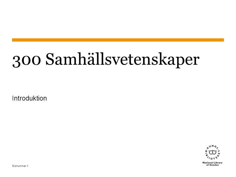 Sidnummer 42 Statsvetenskap - exempel 4 The rise and fall of the Swedish Green Party: 1982-1997 324.248508709048 324.2Partier i särskilda länder modern tid 485Sverige (från tabell 2, enligt anvisning vid 324.24- 324.29) 087 Miljöpartier (från tabell under 324.24-324.29) 09048 1980-1989 (tabell 1: först av två mellan -09048 och - 09049) Politiska partier Land Särskilda partier Tid