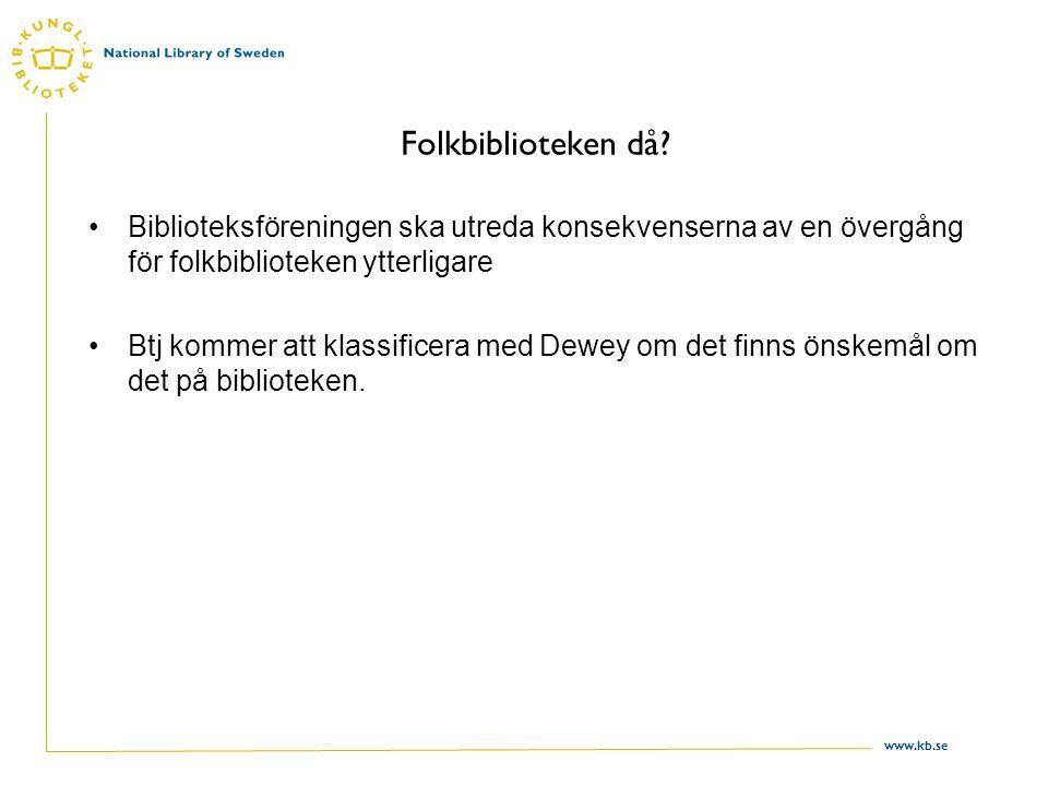 www.kb.se Folkbiblioteken då.