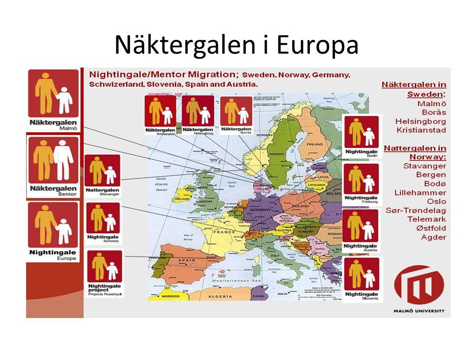 Näktergalen i Europa