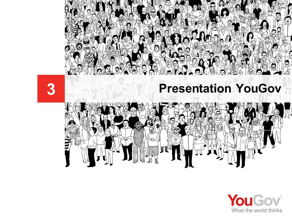 Sveriges Annonsörer © 2009 You Gov 123 | 123 Kommittéfrågor 2009 Presentation YouGov Presentation av företaget 3 YouGov genomför kompletta analyser som hjälper företag att bättre förstå sin marknad samt maximera effekten av reklam och produktlanseringar.
