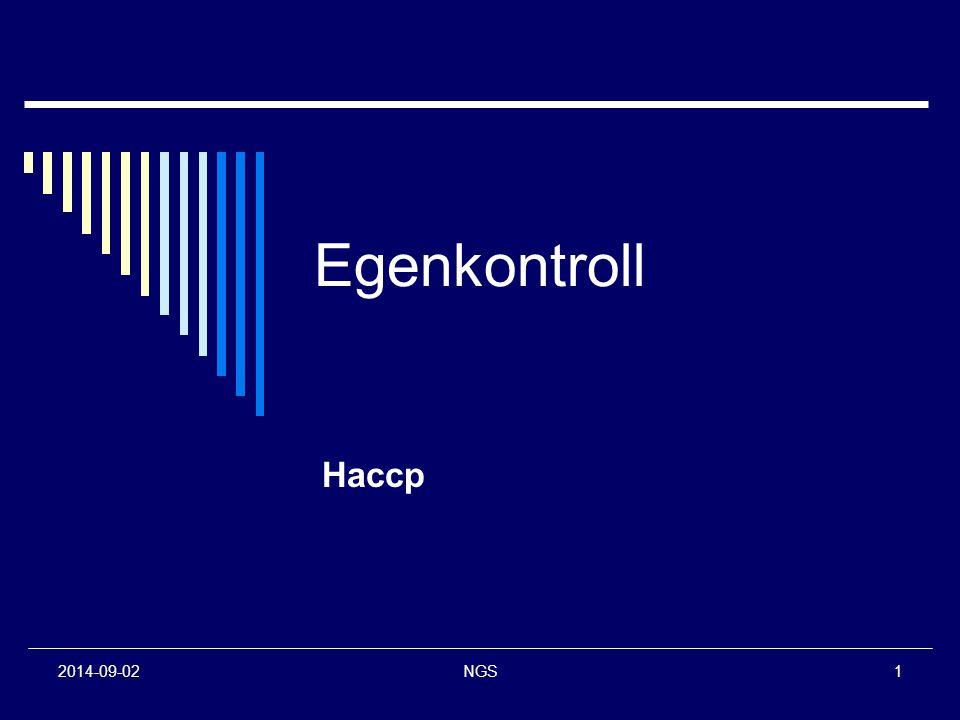 2014-09-02NGS1 Egenkontroll Haccp