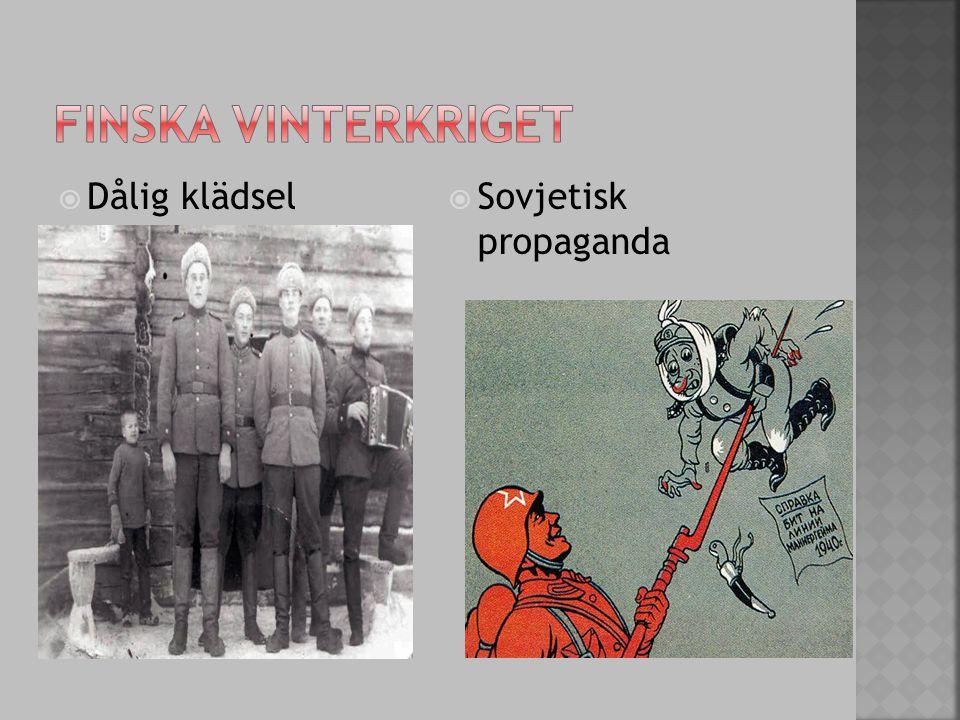  Dålig klädsel  Sovjetisk propaganda