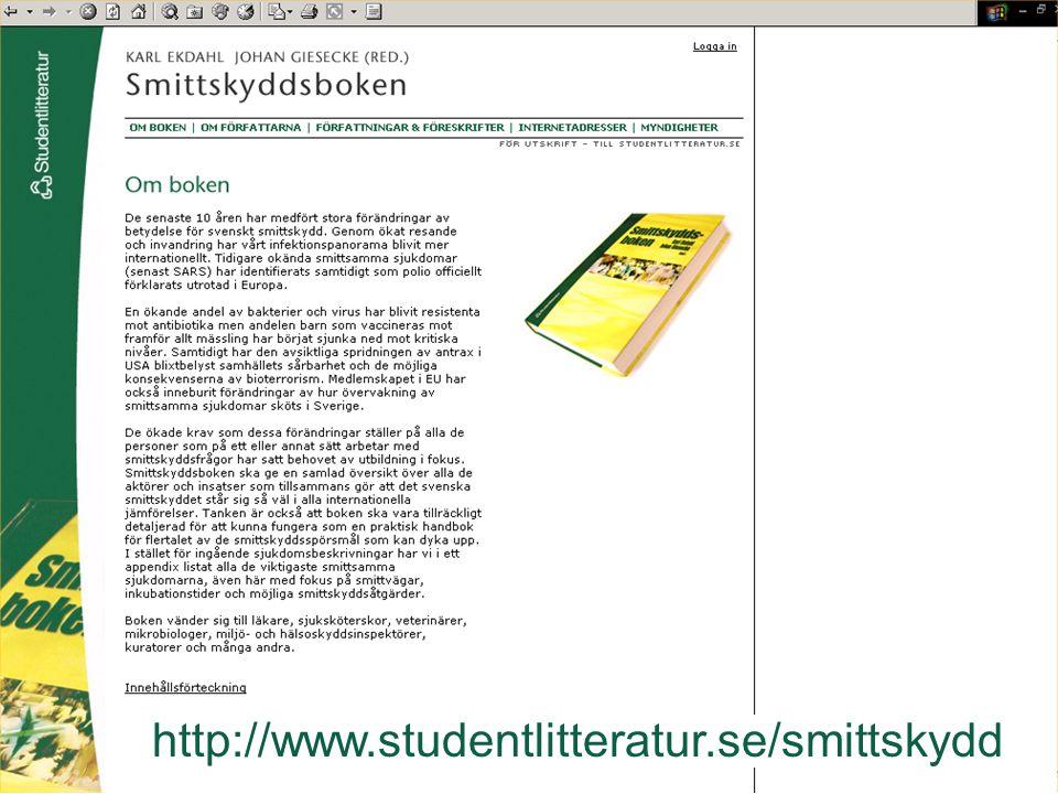 http://www.studentlitteratur.se/smittskydd