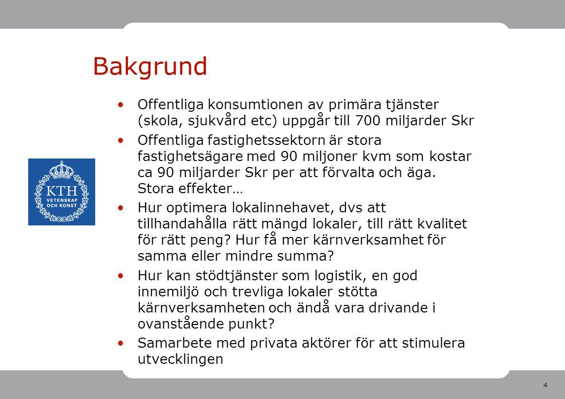 15 Forts Sundsvall Partnerskap med privata fastighetsbolaget Norrporten EU-medel Ekonomi Sundsvall: 18 milj Norrporten: 18 milj EU-medel: 18 milj Drivkraft privata aktören: Kontor och möjlighet att hyra in sig i delar av kommunens lokaler då ej evenemang.