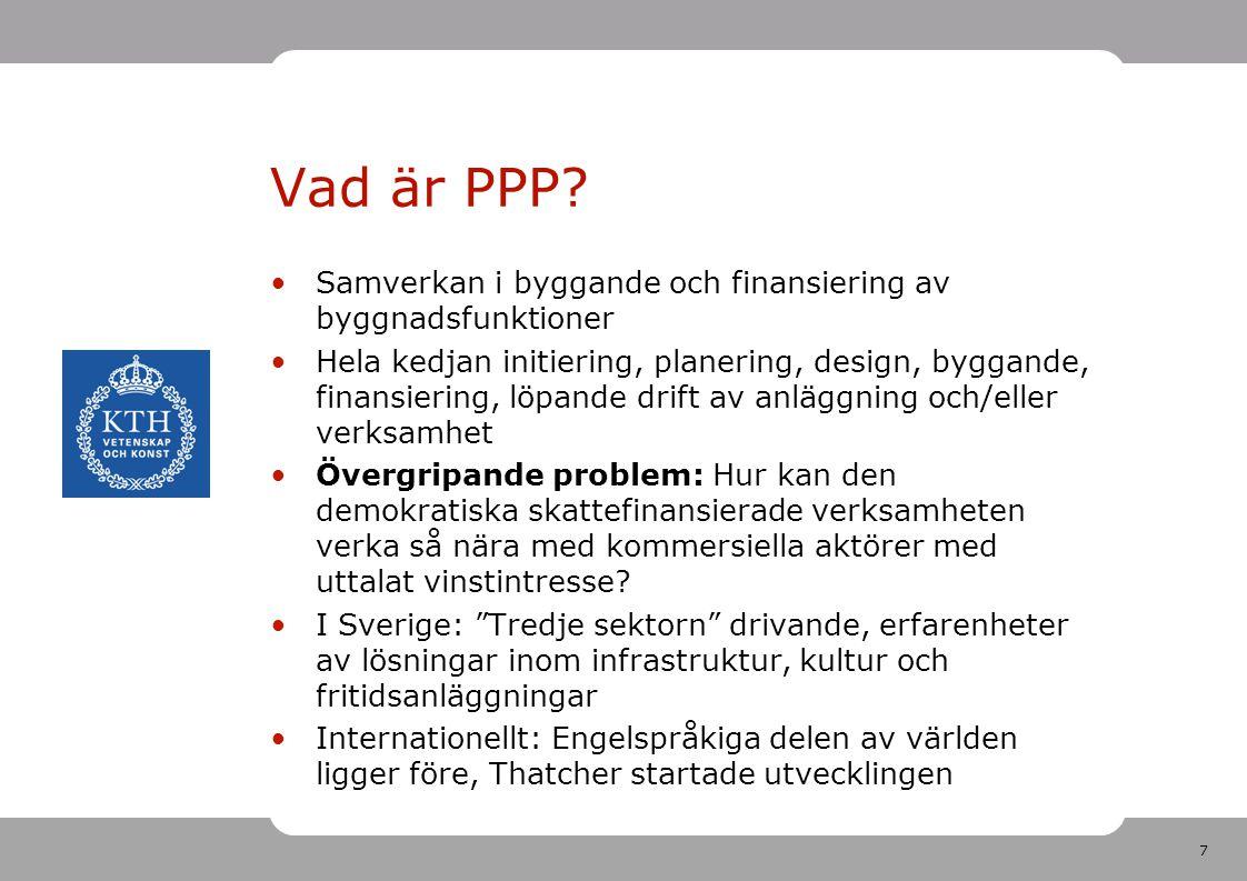 7 Vad är PPP.