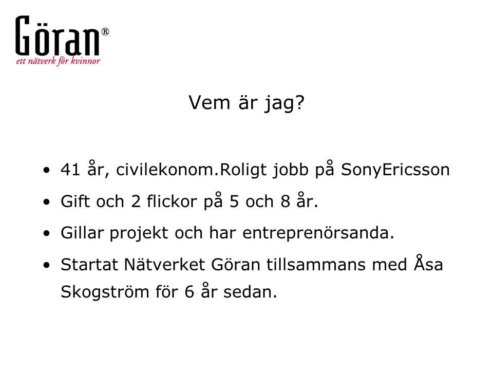 Varför Göran.