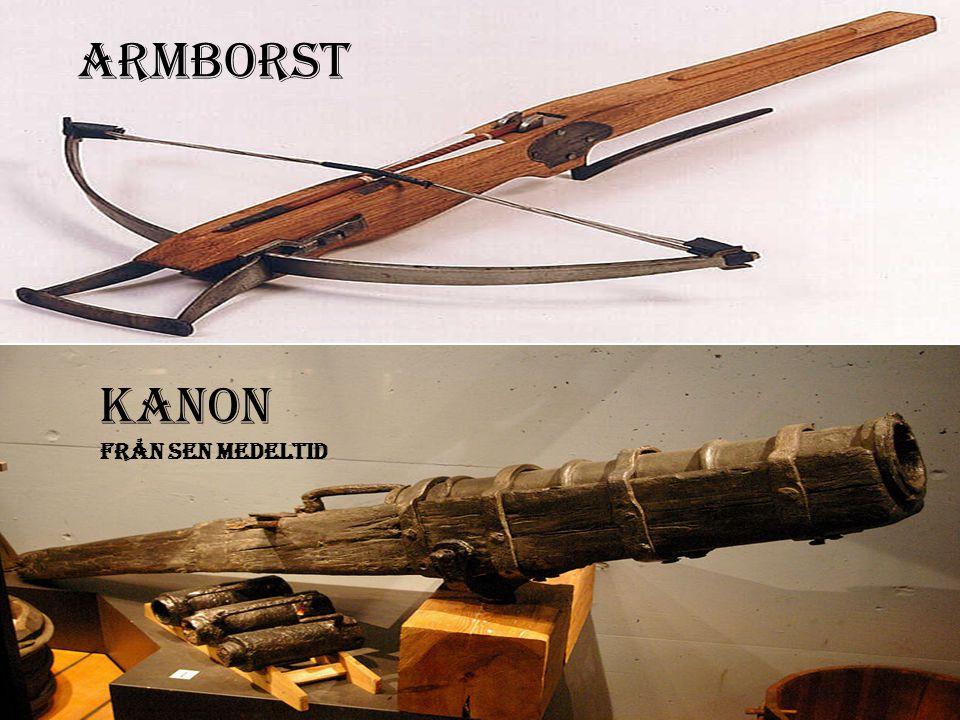 Armborst Kanon från sen medeltid
