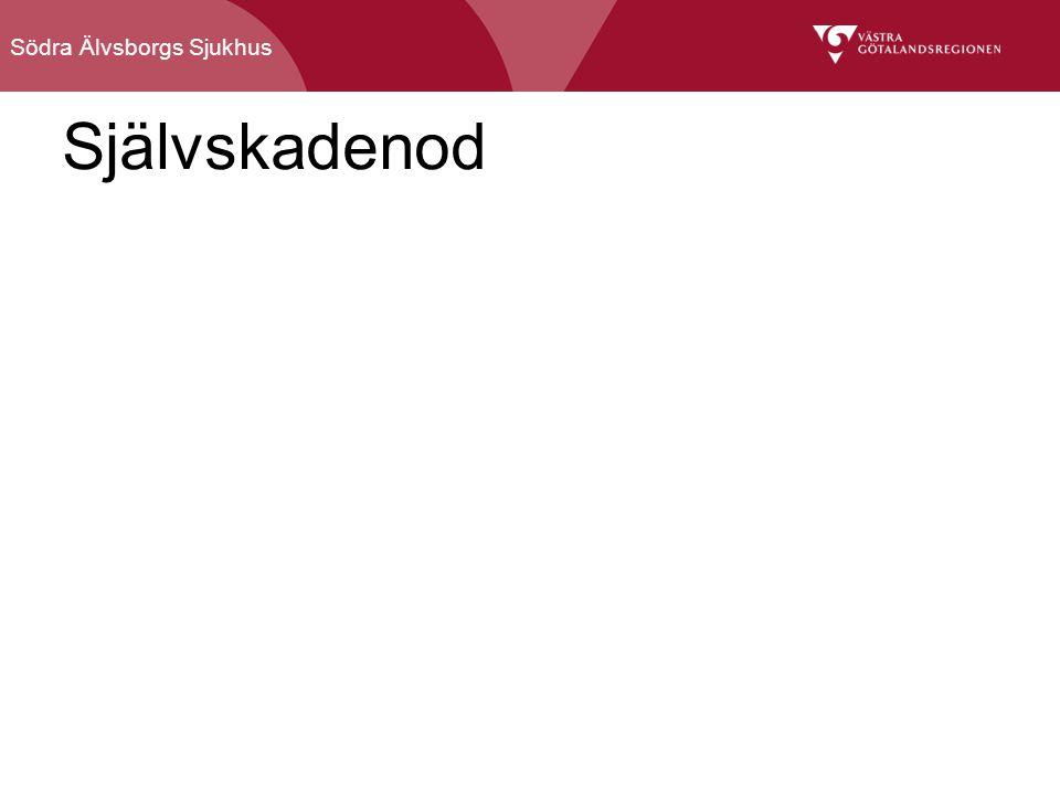 Södra Älvsborgs Sjukhus Självskadenod