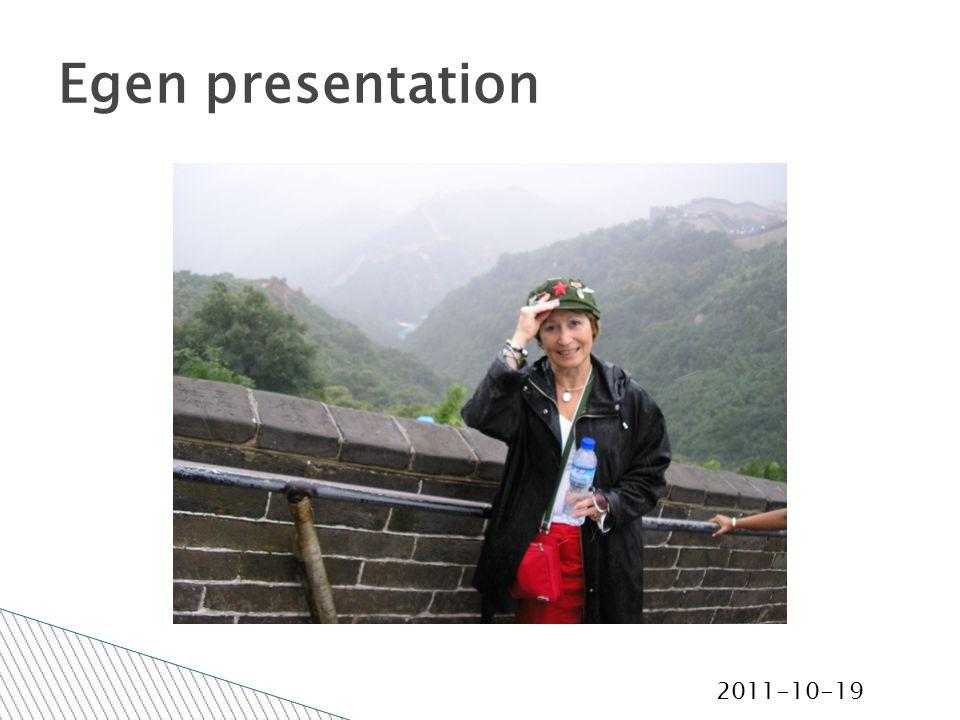 2011-10-19 Egen presentation