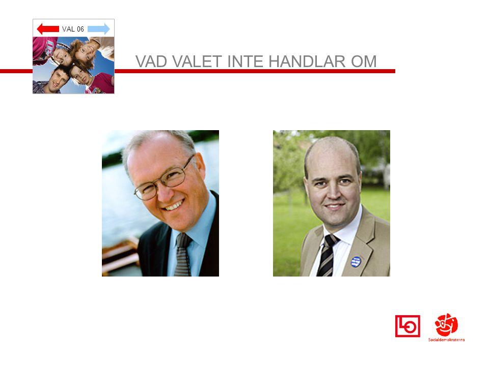 VAL 06 VAD VALET INTE HANDLAR OM