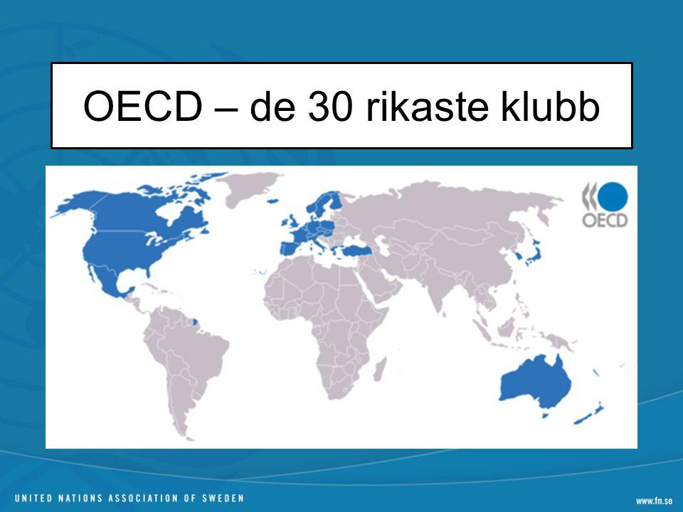 OECD – de 30 rikaste klubb