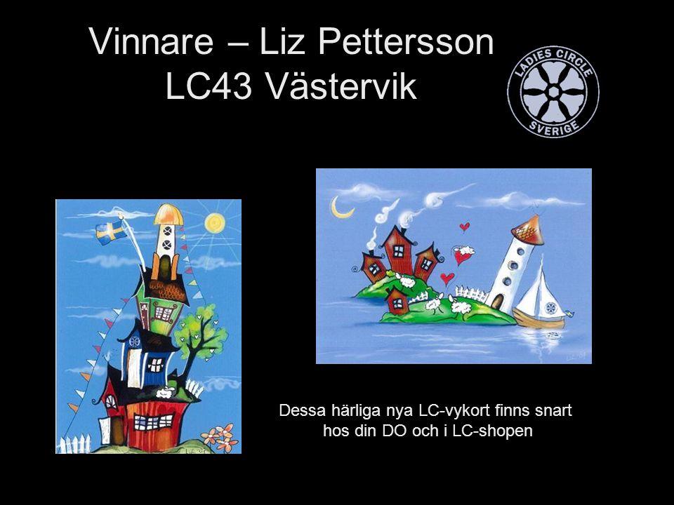 Vinnare – Liz Pettersson LC43 Västervik Dessa härliga nya LC-vykort finns snart hos din DO och i LC-shopen