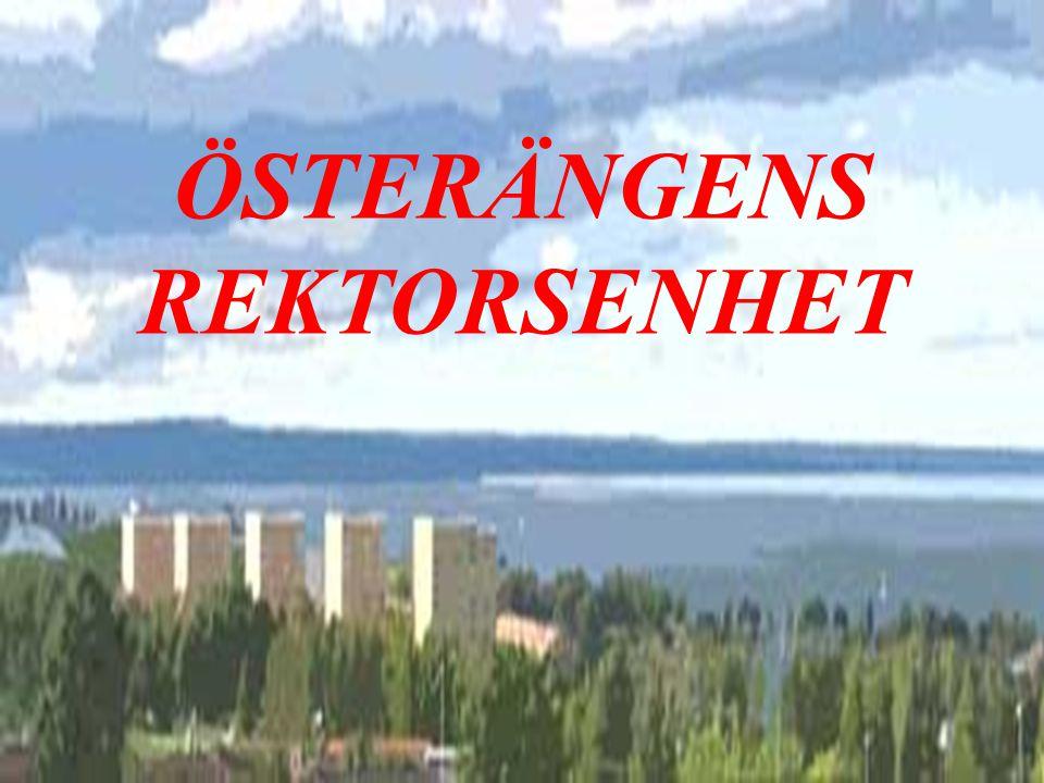 kvalitetsredovisning 1 ÖSTERÄNGENS REKTORSENHET