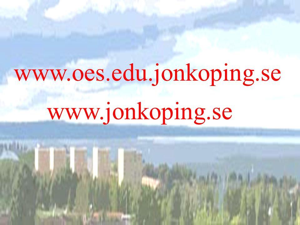 kvalitetsredovisning 21 www.oes.edu.jonkoping.se www.jonkoping.se