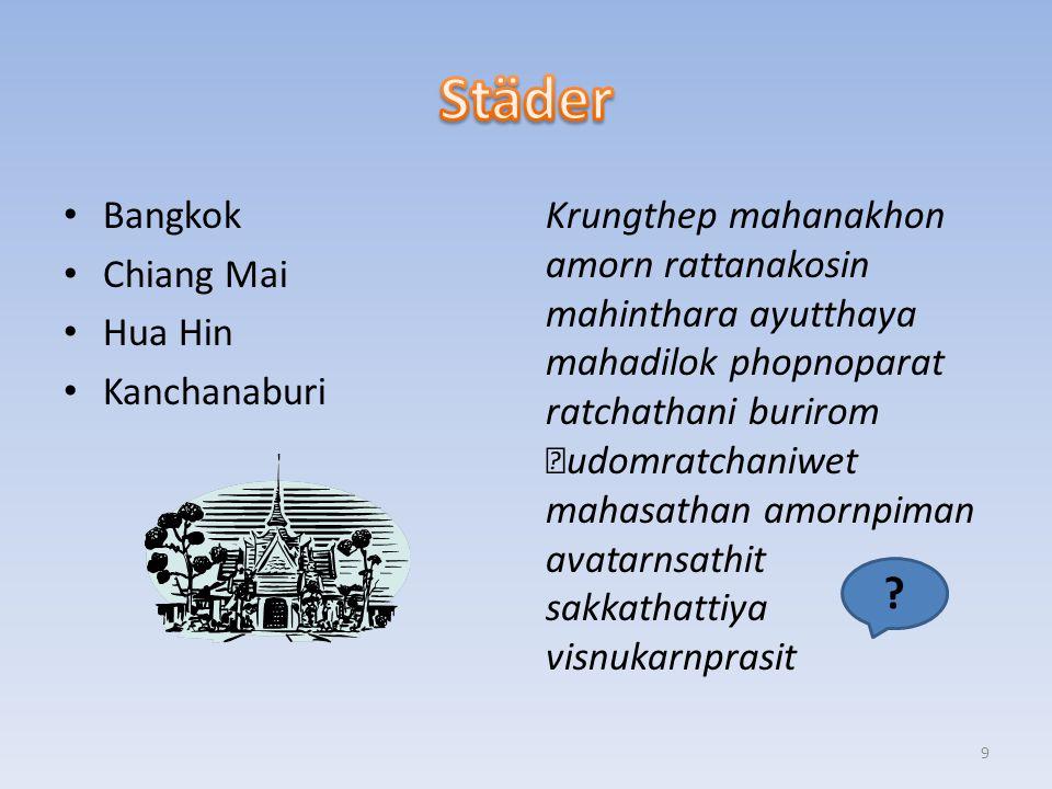 Bangkok Chiang Mai Hua Hin Kanchanaburi Krungthep mahanakhon amorn rattanakosin mahinthara ayutthaya mahadilok phopnoparat ratchathani burirom udomratchaniwet mahasathan amornpiman avatarnsathit sakkathattiya visnukarnprasit .